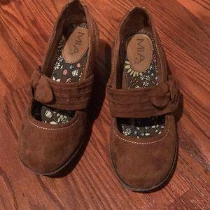 Mia girl wedge shoe